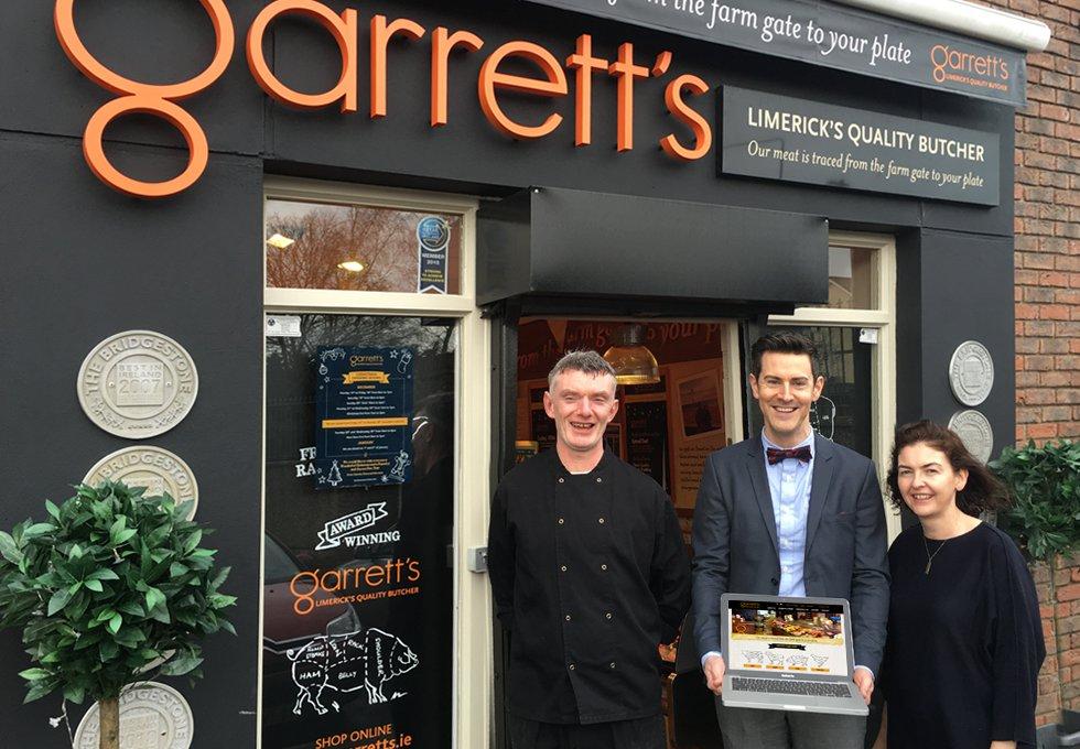 Garrett's Launch New Website