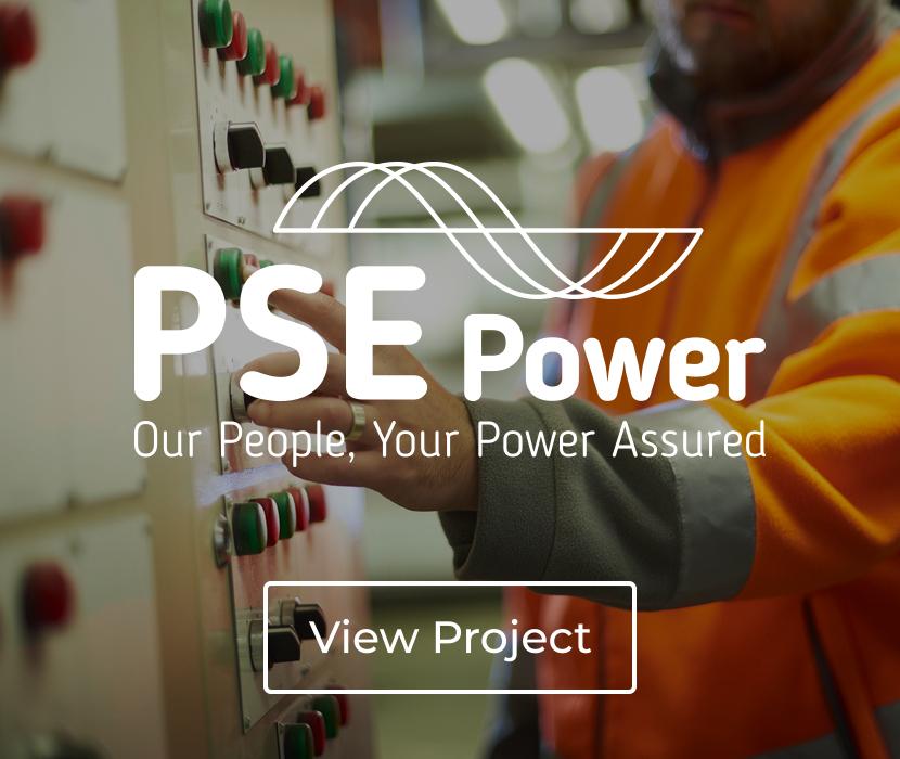 PSE Power Brand Identity