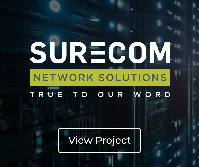 Surecom Network Solutions Brand Identity
